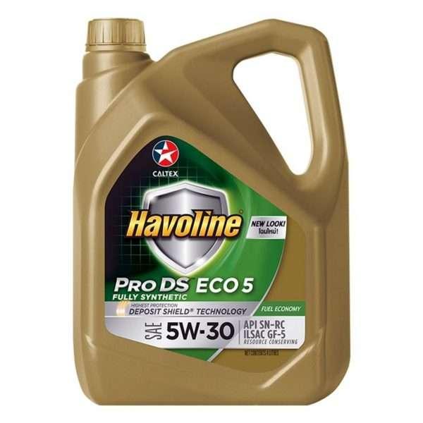 CALTEX HAVOLINE PRO DS ECO 5 5W-30 FULL SYNTHETIC 4L