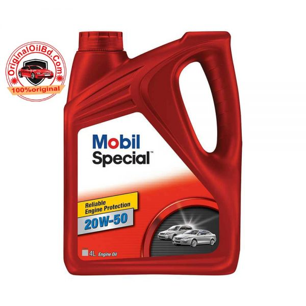 MOBIL SPECIAL 20W-50 4L ENGINE OIL