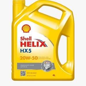SHELL HELIX HX5 20W-50