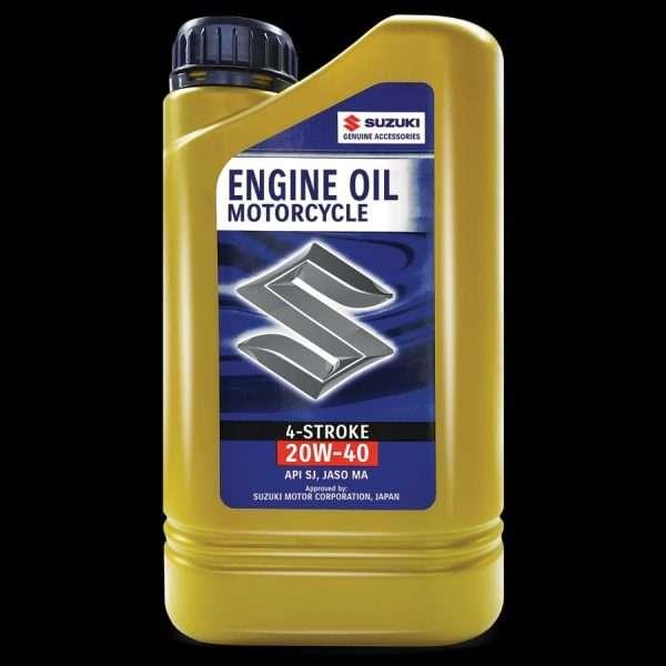 Suzuki motorcycle engine oil 4 stroke 20w-40