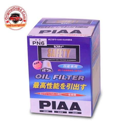 PIAA OIL FILTER PN6 JAPAN