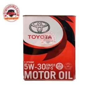 TOYOTA SN/CF 5W-30 MOTOR OIL FULL SYNTHETIC